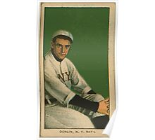 Benjamin K Edwards Collection Mike Donlin New York Giants baseball card portrait Poster