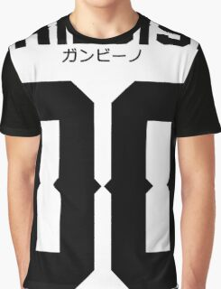 Childish Jersey v2: Black Graphic T-Shirt