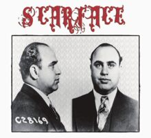 Scarface - Al Capone by Bill Cannon