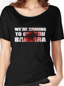 Zombie barbara Women's Relaxed Fit T-Shirt