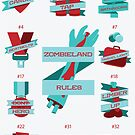 Rules of Zombieland Poster by Chris Beaumont