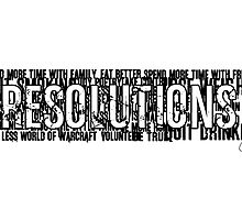 Resolutions by Chris Carruthers