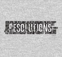 Resolutions Shirt by Chris Carruthers