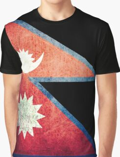 Nepal - Vintage Graphic T-Shirt