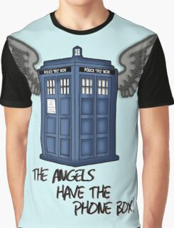 The Angels Have the Phone Box - Doctor Who Graphic T-Shirt