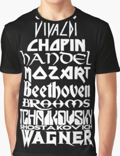 Composers Graphic T-Shirt