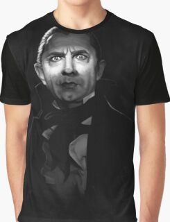 Bela Lugosi dracula - black and white digital painting Graphic T-Shirt
