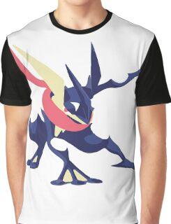 Minimalist Greninja from Super Smash Bros. 4  Graphic T-Shirt
