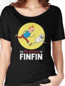 FINFIN Women's Relaxed Fit T-Shirt