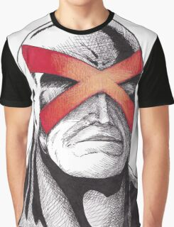 Cyclops Pen and Ink Graphic T-Shirt