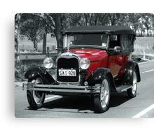 Ford A 1928 Canvas Print