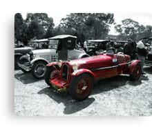 Alfa Romeo 8C 1929 Canvas Print