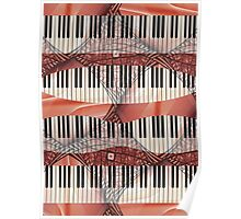 Piano - Keyboard - Musical Instruments Poster