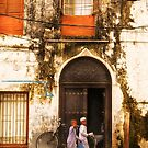 Stonetown Zanzibar Alley by Amyn Nasser