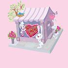 Sweet Bunny Valentine  by jillhowarth