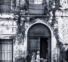 Stonetown Alley Zanzibar by Amyn Nasser