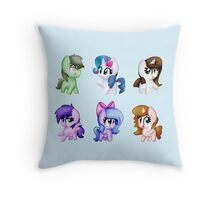 Dat Horsefame Doe Throw Pillow