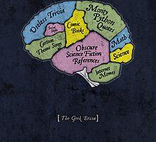 The Geek Brain by merrypranxter