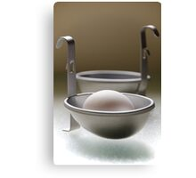 Poached, Not Fried Canvas Print