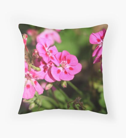 Rhododendron 8813 Throw Pillow