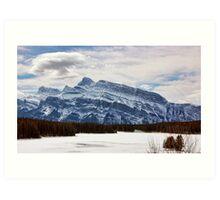 Mountains 2-Banff, Canada Art Print