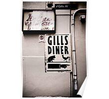 Gills Diner Poster