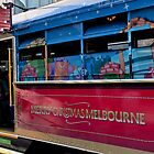 Melbourne Christmas Tram by Judi Corrigan