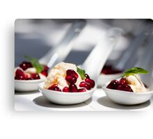 hot day = cold treat Canvas Print