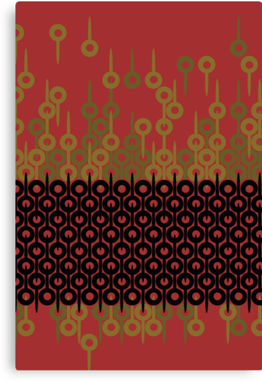 Rust Pattern by merrypranxter