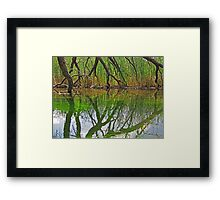 The Hand of God? Framed Print