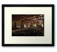 The Pillared Room Framed Print