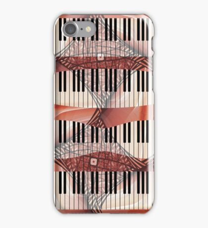 Piano - Keyboard - Musical Instruments iPhone Case/Skin