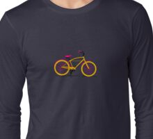 Happy Bike Long Sleeve T-Shirt