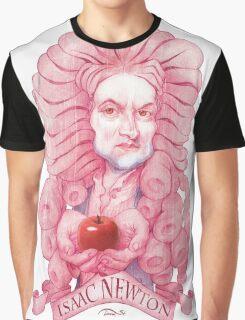 Isaac Newton illustration Graphic T-Shirt