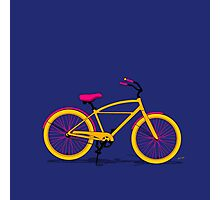 Happy Bike Photographic Print