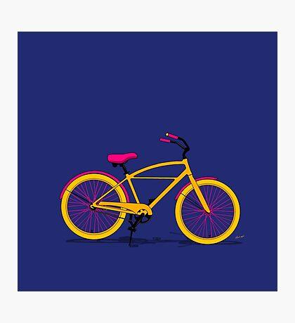 Happy Bike Photographic Print