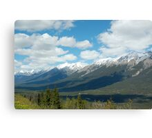 The Rockies Canvas Print