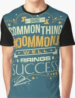 Uncommon Things Graphic T-Shirt