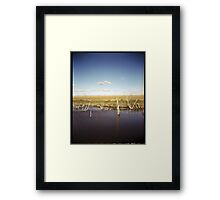 Hypersaline Framed Print