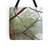Birch Tree Waterscape 3203 Tote Bag