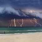 Storm Front - Port Philip Bay by Steven  Sandner