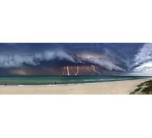 Storm Front - Port Philip Bay Photographic Print