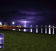 Phillip Island Thunderstorm by Greg Thomas
