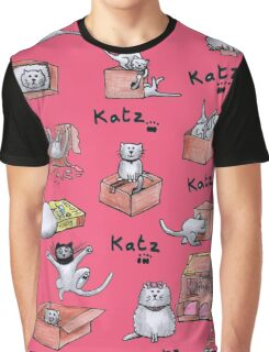 Katz n Boxes Graphic T-Shirt