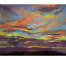 Atahualpa Sunset Photographic Print