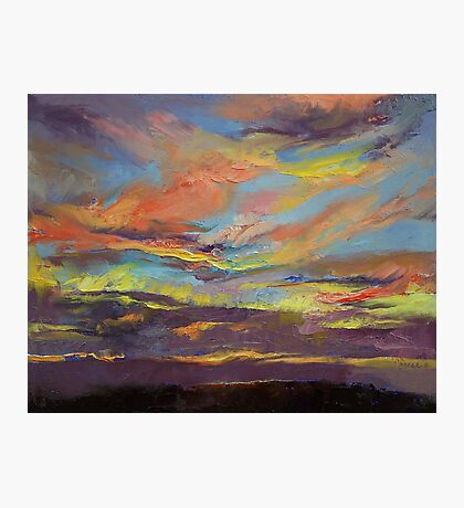 Atahualpa Sunset Photographic Print