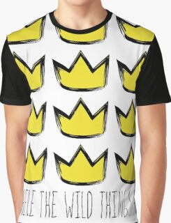 Where the Wild Things Are - Crowns Cutout Graphic T-Shirt