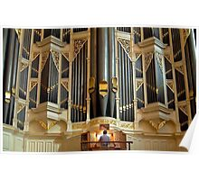 Sydney Town Hall pipe organ Poster