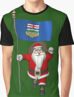 Santa Claus Visiting Alberta Graphic T-Shirt