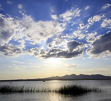 Lake Havasu sunset by EmanuelAZ